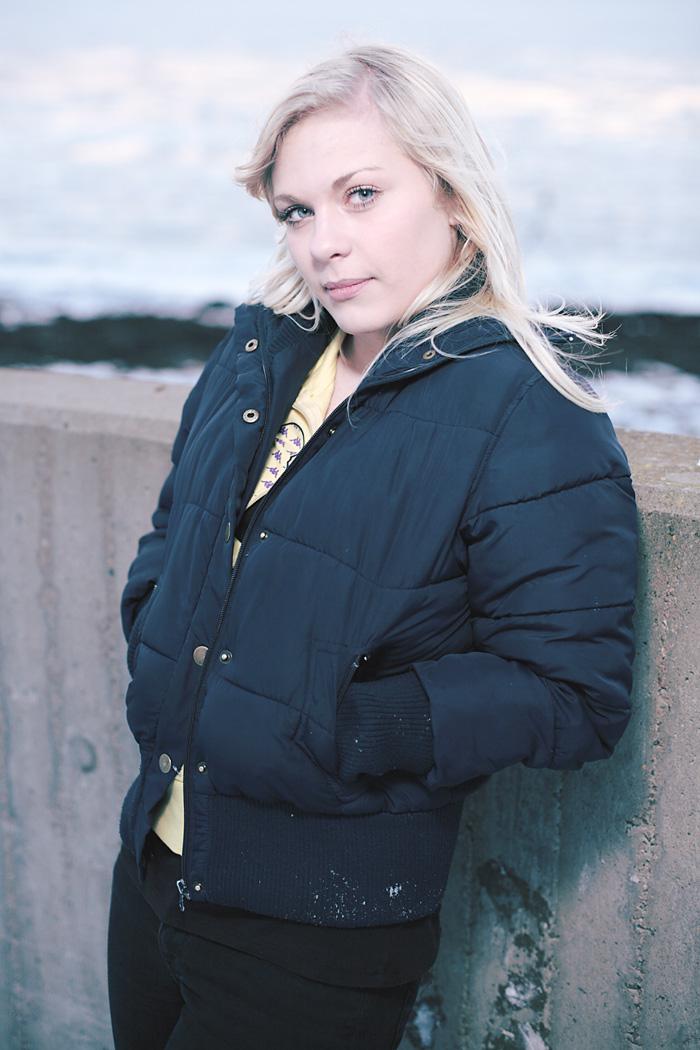 Modellfoto med Jane