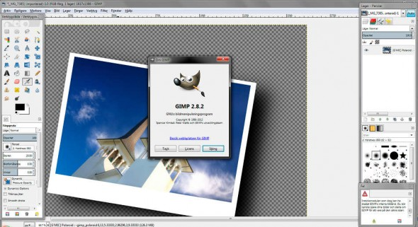 Gimp 2.8.2