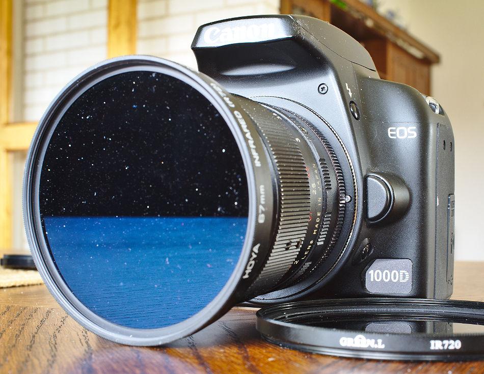 IR-kamera 1000d