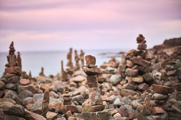 Stenstaplar vid Hovs hallar