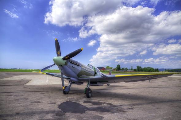 Spitfire i Ängelholm