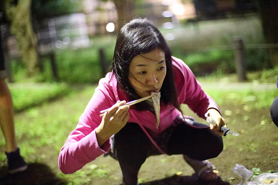 Japanska äter surströmming