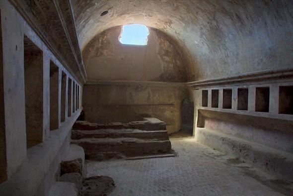Badhus i Pompeji