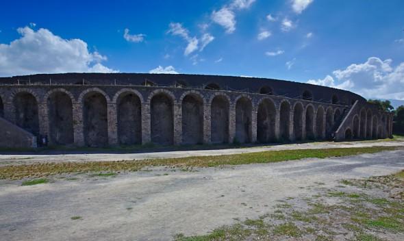 Amfiteatern i Pompeji