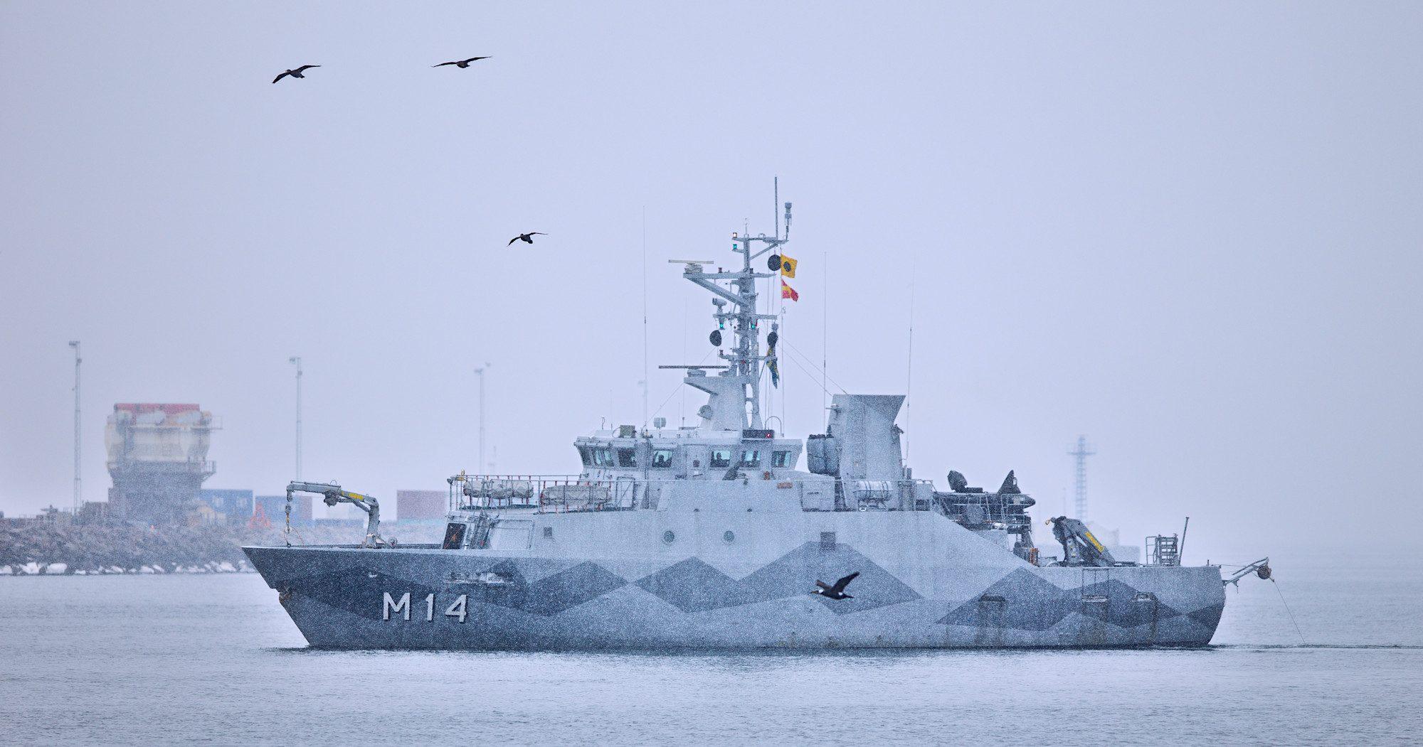 M14 HMS Sturkö i Helsingborg