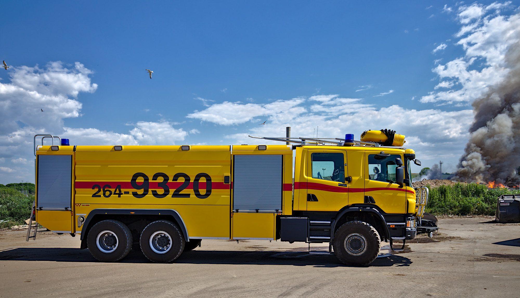 Flygplatsbrandbil Buffalo