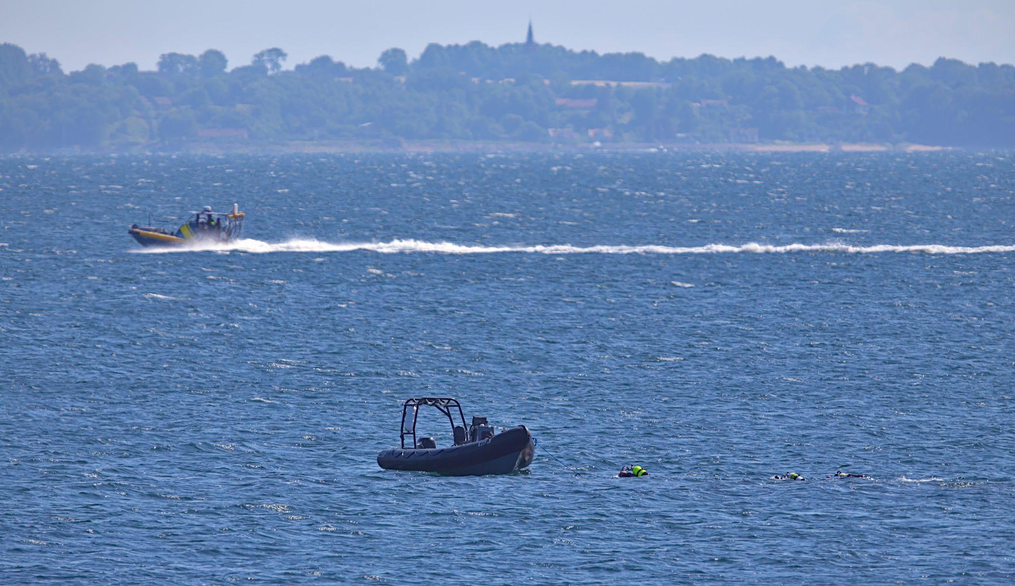 Saknad dykare på Råå