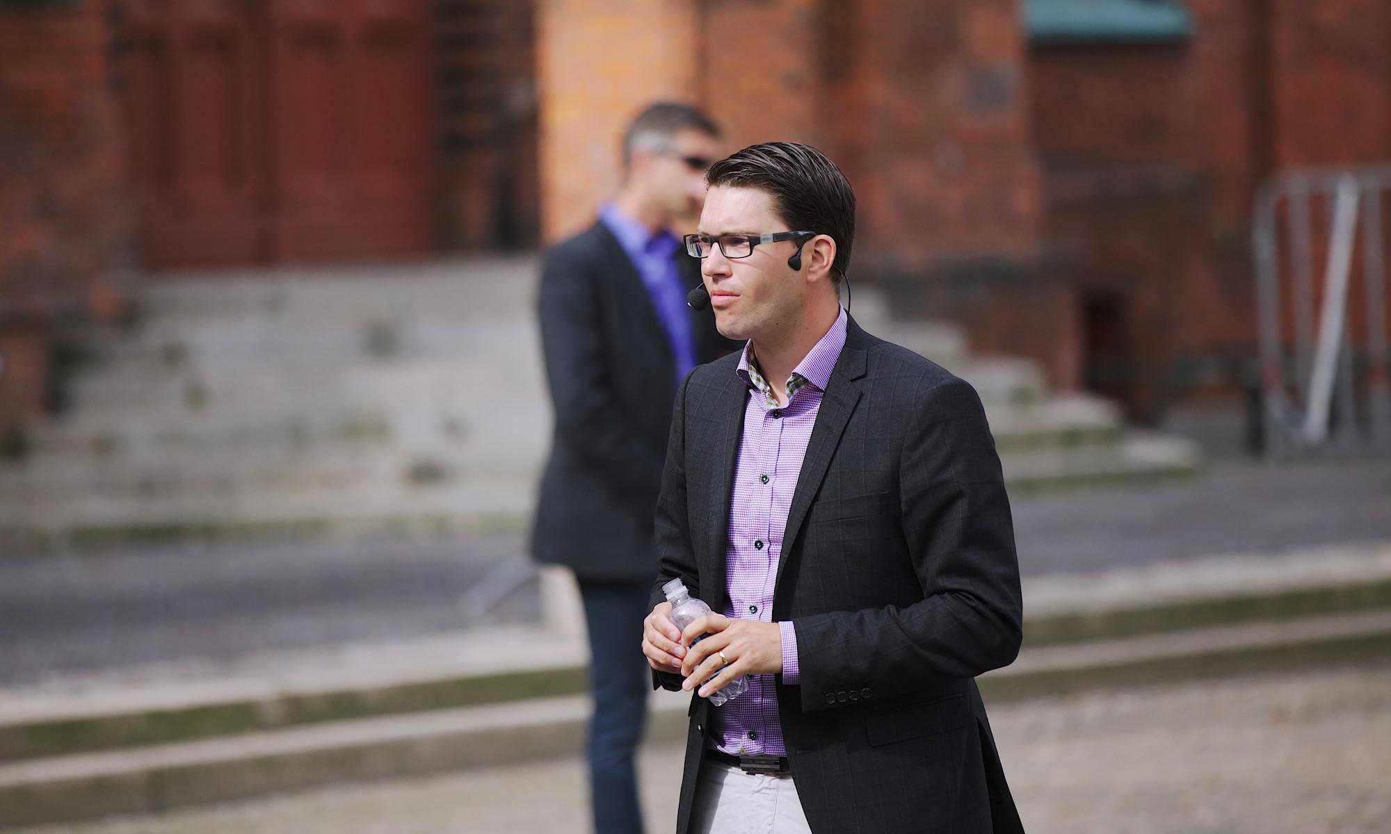 Jimmie Åkesson i Landskrona