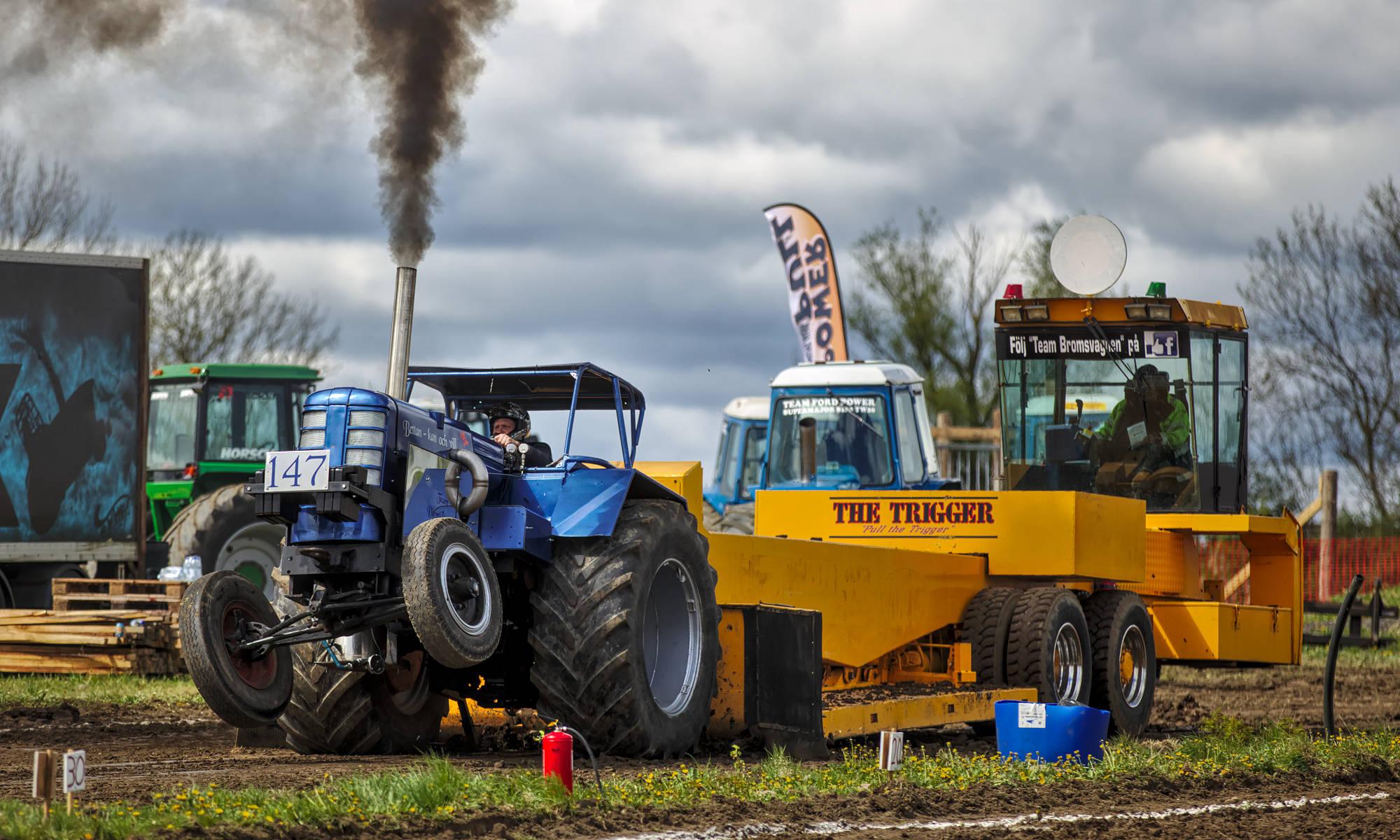 Traktorpulling i Tvängstorp