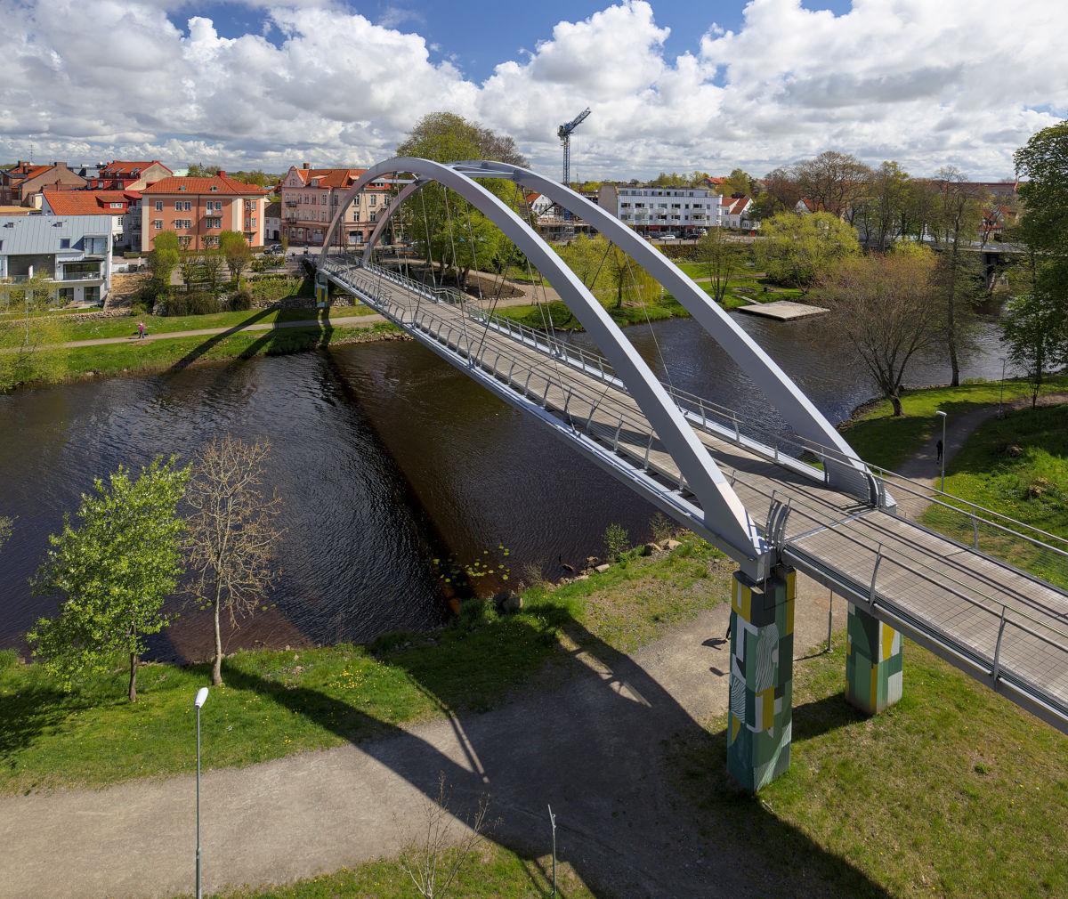 Tullportsbron över Rönne å