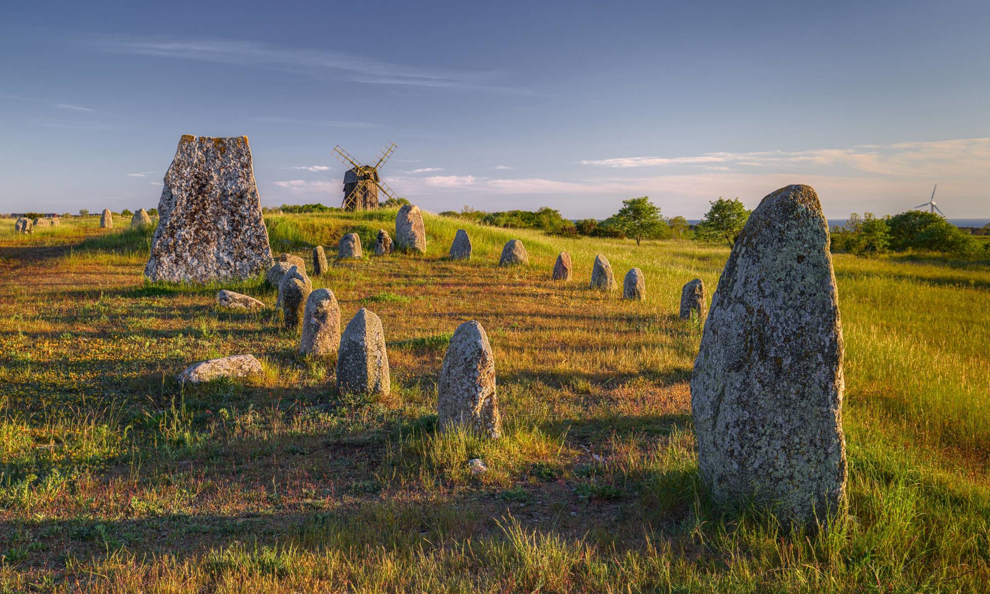 Gettlinge gravfält på Öland